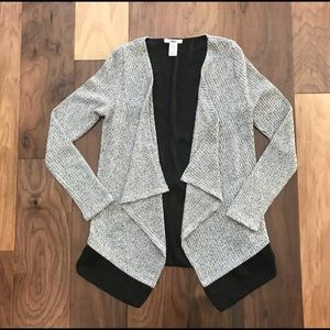 Bar III sweater - Black and Light Gray
